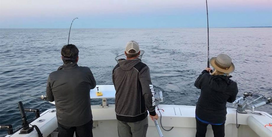 Charter Boat Fish Guide in Sturgeon Bay, WI