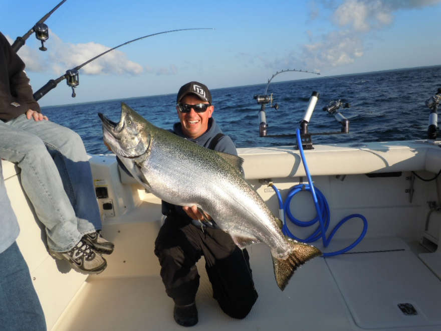 About Salmon Depot Charter Fishing In Door County Wi